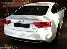 S look Spoiler for Audi A5 Sportback Hatchback RS Sline Trunk Lip boot wing