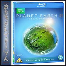 PLANET EARTH II 2 BBC SERIES - DAVID ATTENBOROUGH   *NEW BLU-RAY REGION FREE***