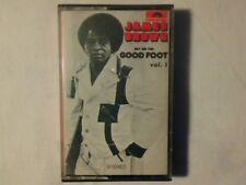 JAMES BROWN Get on the good foot vol 1 mc cassette k7 ITALY MAI SUONATA UNPLAYED