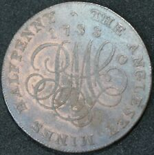 1788 | Anglesey Mines Druids Head Half-Penny Token | Tokens | KM Coins