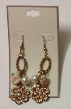 Gold Tone Earrings Fashion Costume Jewelry