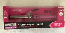 Pink Titanium Curling Iron