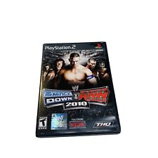 WWE SmackDown vs. Raw 2010 (Sony PlayStation 2) PS2 Complete TESTED & WORKS