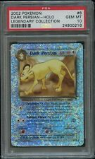 Pokemon Dark Persian Reverse Foil PSA 10 Gem Mint 6/110 Legendary Collection