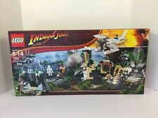Lego Indiana Jones #7623 Temple Escape New Sealed