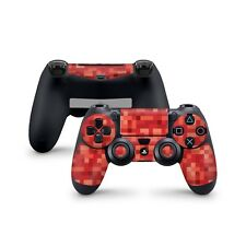 Minecraft Red Skin For Sony Playstation 4 Dualshock Wireless Controller PS4