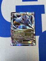 NM Pokemon KINGDRA EX Card FATES COLLIDE Set 73/124 XY X and Y Ultra Rare