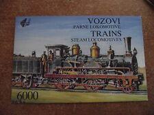 Yugoslavia 1992 Steam Locomotives (Stamp Booklet)