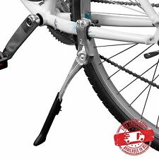 "BV Bike Adjustable Rear Kickstand Alloy Cycing Side Stand 24-29"" NEW KA70-SL"