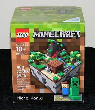 NEW! LEGO 21102 MINECRAFT MICRO WORLD: THE FOREST
