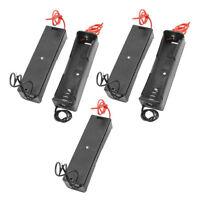 5PCS Plastic Battery Case Holder Storage Box for 18650 Batteries Charging 3.7V
