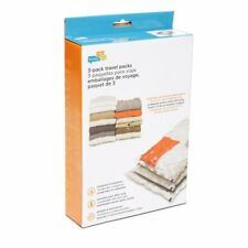 New Medium & Large Travel Combo Storage Bags - 3 Count