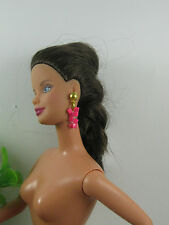 Fuchsia Earrings  for  Barbie,Fashion Royalty,Poppy Parker and similar -1