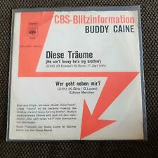 Buddy Caine - Diese Träume 7'' PROMO/ Hollies - He ain't heavy he's my brother