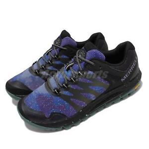 Merrell Nova 2 Night Sky Black Blue Reflective Men Running Outdoor Shoes J067021