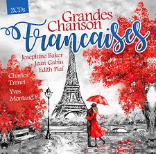 CD GRANDES CHANSONS FRANCAISES D'Artistes Divers 2CDs