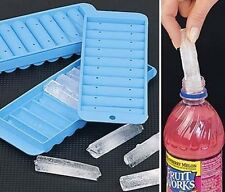 Sport Bottle Ice Stick Tray Cube Cylindrical Water Drink Ice Maker Tubes New