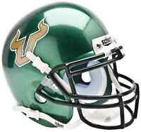 SOUTH FLORIDA USF BULLS NCAA Schutt XP Authentic MINI Football Helmet