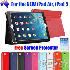 Flip Leather Smart Cover Stand Case Pouch for Apple the New iPad Air