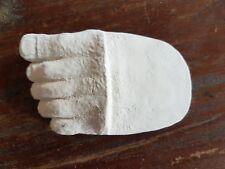 1 pies de goma de látex Molde Molde Maceta Pies Estatuilla Ornamento De Yeso Hormigón