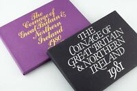 1980 & 1981 Great Britain & Northern Ireland Proof sets