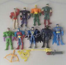batman the brave and the bold lot - dc comics action figures bundle x 9