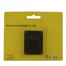Nueva tarjeta de memoria de 64MB para el juego de consola PS2 de PlayStation 2 4