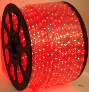 13 MM LED rope lights 2 wire Game room She Shed Man cave Patio Deck Holiday.