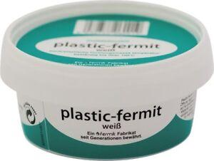 Plastik Fermit Dauerplastische Dichtungsmasse weiß 250g Dose