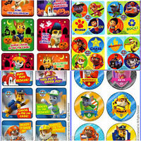 Paw Patrol Stickers - Birthday Party Decorations Supplies Favours -Dots Stickers