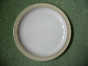 DENBY LINEN 1 X TEA SIDE PLATE SECOND QUALITY GOOD USED CONDITION P