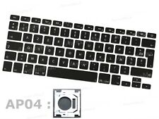 " (NEUF) SET DE TOUCHES CLAVIER FRANCAIS FR APPLE MACBOOK PRO 13"" 15"" 17"" (AP04)"