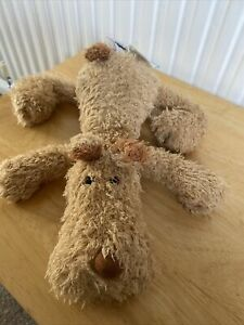 jellycat Literary Lounger Dickens Dog