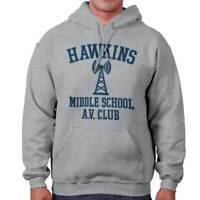 Hawkins Middle School AV Club Eleven Sci-Fi TV Show Gift Hooded Sweatshirt
