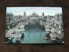 Latin-British Exhibition, London, 1912 Postcard, Court of Honour