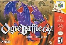 Ogre Battle 64: Person of Lordly Caliber (Nintendo 64, 2000)!