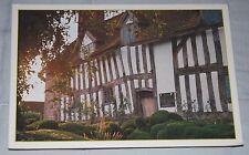 Vintage Postcard - Mary Arden's House Wilmcote,Stratford Upon Avon, Shakespeare