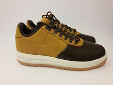 Nike force 1 duckboot low Size 9.5 brown/desert orchre New.