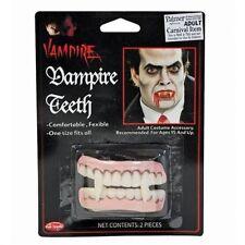 Vampire Fake False Teeth Halloween Horror Fancy Dress Accessory P6011