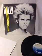 "Billy Idol Don't Stop 12"" Vinyl EP 1981 Chrysalis PV 44000 EX"