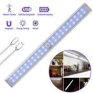 LED Linkable Kitchen Under Cabinet Cupboard Unit Strip Lights Cool White 40 LED