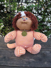 "1983 Cabbage Patch Kid Soft Sculpture Doll 15"" Dog Cat Pet Koosas Animal"
