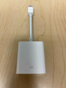LOT OF 5 | Mini DisplayPort to VGA Adapter - Genuine Apple MB572Z/B A1307