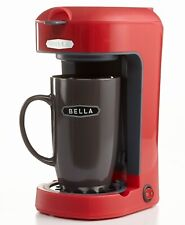 Bella Single Brew One Scoop One Cup Coffee Maker Red