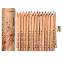 48 Colors Colouring Pencils Set Oil based Color for Artist Field Sketch Drawing