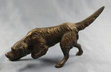 jagdhund irish setter bronze dog hund bronce