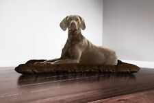 Furhaven Pet NAP Reversible Tufted Pillow Dog Bed for Crates or Kennels