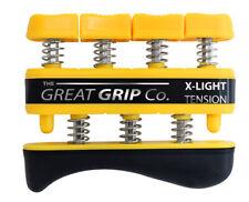 The GREAT GRIP™ Yellow, X-Light - 3 lbs resistance per finger, LIFETIME WARRANTY
