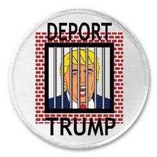 "3/"" Sew//Iron On Patch Anti Donald Liberal Democrat America Gift F*ck You Trump"