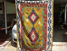 TURKISH,KILIM,BEAUTIFUL,CHRISTMAS,2,5,BRIGHT COLORS,VERY SPECIAL